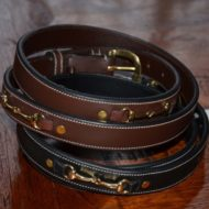 Eponias leather belts