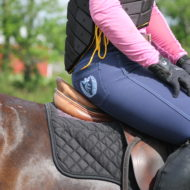 Electrical Blue breeches in Eco bamboo micro fiber