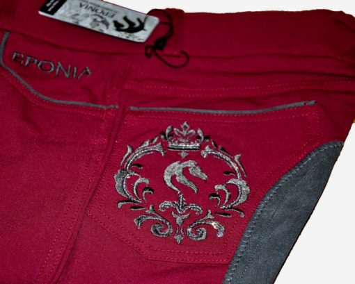 Classic Burgundy Breeches in Clarino or Knee Silicon